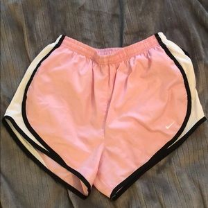 Nike dry fit running shorts - small